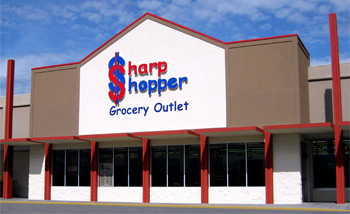 Sharp Shopper Grocery Outlet Harrisonburg Storefront