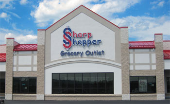 Sharp Shopper Grocery Outlet Middletown Storefront