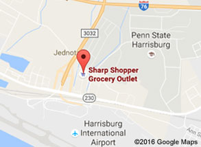 Sharp Shopper Grocery Outlet Middletown Store Map