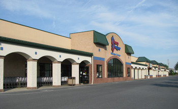 Sharp Plaza Storefronts