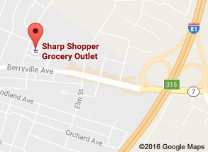 Sharp Shopper Grocery Outlet Winchester Store Map